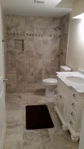 TL Renovation- Basement Bathroom